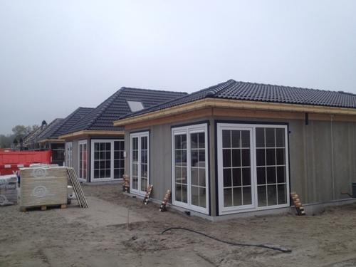 Nieuwbouw 43 Chalets te Leiden